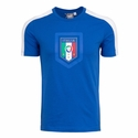 Puma Italy Fanwear Badge Tee - Team Power Blue
