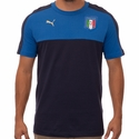 Puma Italy Tribute Badge Tee - Blue