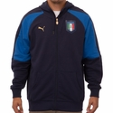 Puma Italy Tribute Full Zip Hoody - Blue