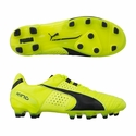 Puma King II FG Soccer Cleats - Safety Yellow