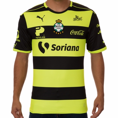 Puma Santos Laguna 2016/2017 Away Jersey - Click to enlarge