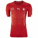 Puma Switzerland 2014 Home Jersey