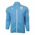 Puma Uruguay Stadium Jacket - Silver Lake Blue