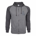 Real Madrid FZ Hoody - Grey