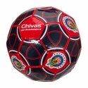 Rhinox Chivas Home Soccer Ball - Red
