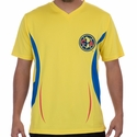 Rhinox Club America Poly Top - Yellow