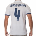 Sergio Ramos Real Madrid 2016/17 Home Jersey