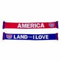 U.S. Soccer Land That I Love Scarf