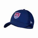 U.S. Soccer Neo 39THIRTY Stretch Fit Poly Cap - Royal