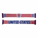 U.S. Soccer United States Striped Scarf
