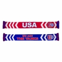 U.S. Soccer We Are The Yanks Scarf