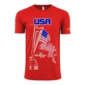 United States 2015 CONCACAF Gold Cup Half Trophy Tee