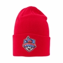 USYS National League Knit Beanie - Red