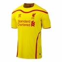 Warrior Liverpool 2014/2015 Away Jersey