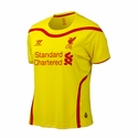 Women's Liverpool 2014/2015 Away Jersey