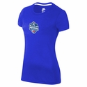 Women's 2014 US Youth Soccer National Championships Tee - Blue