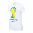 Women's adidas FIFA World Cup Brazil Tee - White