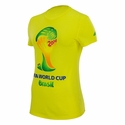 Women's adidas FIFA World Cup Brazil Tee - Yellow