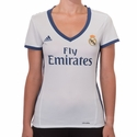 Women's adidas Real Madrid 2016/2017 Home Jersey