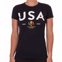 Women's Fifth Sun USA 2016 Copa America Tee - Navy