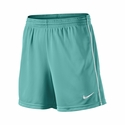 Women's Nike Academy Knit Soccer Shorts - Turbo Green