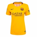 Women's Nike FC Barcelona 2015/2016 Stadium Away Jersey
