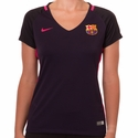 Women's Nike FC Barcelona 2016/2017 Stadium Away Jersey
