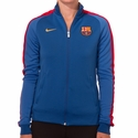 Women's Nike FC Barcelona Auth N98 Track Jacket - Sport Royal