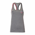 Women's Nike USA Crest Tank - DK Grey Heather