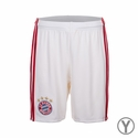 Youth adidas FC Bayern Munich 2016/2017 Home Shorts