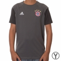 Youth adidas FC Bayern Munich Training Tee - Granite