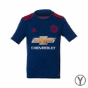 Youth adidas Manchester United 2016/2017 Away Jersey