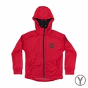 Youth adidas Manchester United FZ Hoody - Red/Black