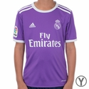 Youth adidas Real Madrid 2016/2017 Away Jersey