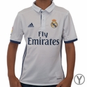 Youth adidas Real Madrid 2016/2017 Home Jersey