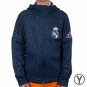 Youth adidas Real Madrid FZ Hoody - Navy
