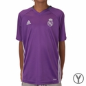 Youth adidas Real Madrid Training Jersey - Ray Purple