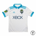 Youth adidas Seattle Sounders 2017/2018 Away Jersey