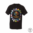 Youth Fifth Sun 2016 Copa America Rings Tee - Black