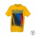 Youth Fifth Sun Colombia 2016 Copa America Flag Tee - Yellow