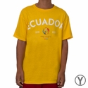 Youth Fifth Sun Ecuador 2016 Copa America Tee - Yellow