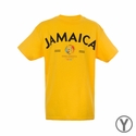 Youth Fifth Sun Jamaica 2016 Copa America Tee - Yellow
