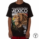 Youth Fifth Sun Mexico 2016 Copa America Flag Tee - Black