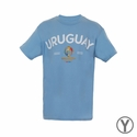 Youth Fifth Sun Uruguay 2016 Copa America Tee - Light Blue