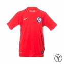 Youth Nike Chile 2016/2017 Stadium Home Jersey