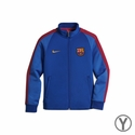 Youth Nike FC Barcelona Auth N98 Track Jacket - Sport Royal