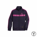 Youth Nike FC Barcelona Core Jacket - Purple Dynasty