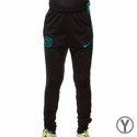 Youth Nike FC Barcelona Squad KPZ Pants - Black/Energy
