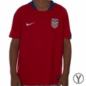 Youth Nike USA Flash SS Training Top - University Red