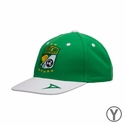 Youth Pirma Leon 19 NINETY Adjustable Cap - Green/White
